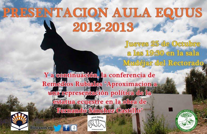 Conferencia de Remedios Rubiales en la Universidad de Córdoba