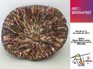 La obra de Remedios Rubiales presente en el Art&Breakfast /3 de Málaga