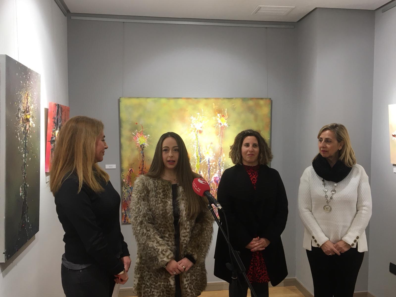 Exposición y taller didáctico de Remedios Rubiales en la Fundación López Mariscal